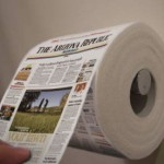 Shrinking Newspaper