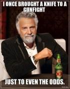 Knife Gunfight