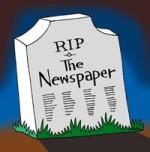 Newspaper RIP